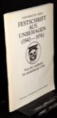 Universitaet Bern, Festschrift aus Unbehagen