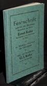 Festschrift, Buchhandlung Ernst Kuhn
