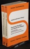 Lehmann, Deutsche Novellen von Goethe bis Walser