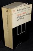 Lukacs, Schriften zur Ideologie und Politik