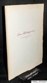 Berner Schreibmappe, Friedrich Traffelet