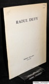 Bignou Gallery 1938, Raoul Dufy