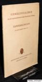 Gemaeldegalerie Wien, Erwerbungen 1920-1923