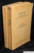Goethe, Schriften zur Geologie und Mineralogie