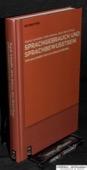 Schmidlin / Behrens / Bickel, Sprachgebrauch und Sprachbewusstsein
