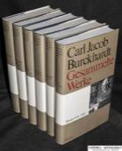 Burckhardt, Gesammelte Werke