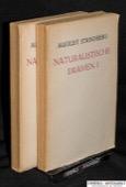 Strindberg, Naturalisitische Dramen