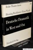 Rischbieter / Wendt, Deutsche Dramatik in West und Ost