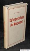 Kraus, Kulturpsychologie der Menschheit