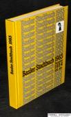 Suter, Basler Stadtbuch 1983