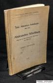 Anhegger, Altdeutsches Schrifttum