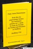 Zimmermann, gegenwaertige Gefahre des Vaterlandes ..
