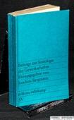 Bergmann, Beitraege zur Soziologie der Gewerkschaften