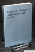 Hindemith-Jahrbuch, Annales Hindemith 1976/V