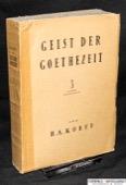 Korff, Geist der Goethezeit 3: Fruehromantik