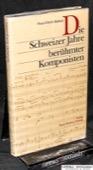 Mielsch, Die Schweizer Jahre beruehmter Komponisten