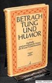 Hock, Betrachtung und Humor
