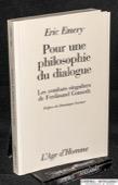 Emery, Pour une philosophie du dialogue