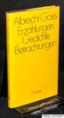 Goes, Erzaehlungen, Gedichte, Betrachtungen