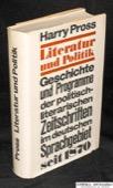 Pross, Literatur und Politik