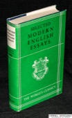 Selected, modern English essays.