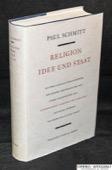 Schmitt, Religion, Idee und Staat