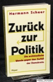 Scheer, Zurueck zur Politik