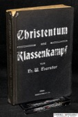 Foerster, Christentum und Klassenkampf