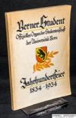 Berner Student, Jahrhundertfeier 1834-1934