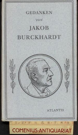 Burckhardt .:. Gedanken