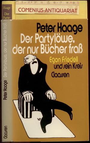 Haage .:. Egon Friedell und sein Kreis