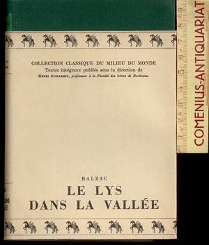 Balzac .:. Le lys dans la vallee