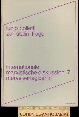 Colletti .:. Zur Stalin-Frage