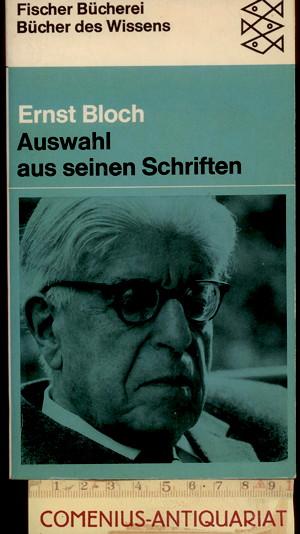 Bloch .:. Auswahl aus seinen Schriften