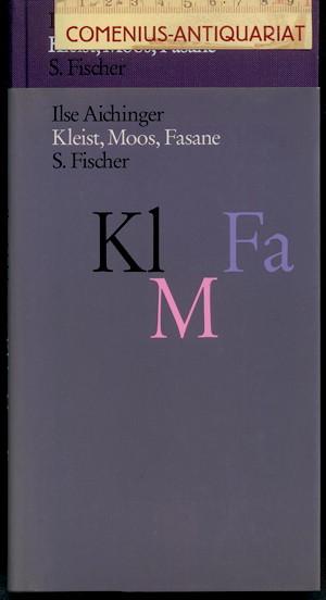 Aichinger .:. Kleist, Moos, Fasane