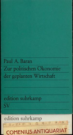Baran .:. Zur politischen Oekonomie
