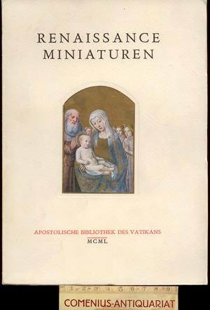Apostolische Bibliothek .:. Renaissance Miniaturen