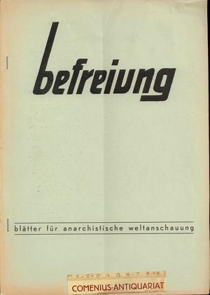 Befreiung .:. Blaetter fuer anarchistische Weltanschauung [14/01]