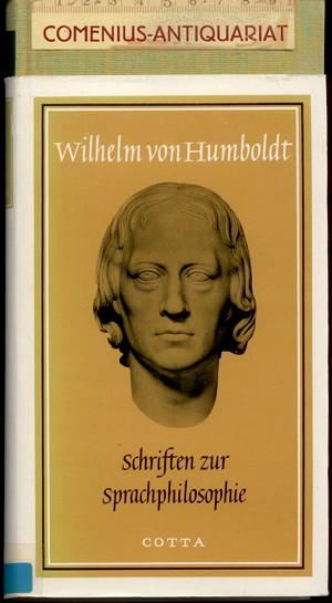 Humboldt .:. Schriften zur Sprachphilosophie