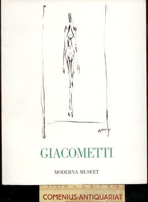 Moderna Museet 1977 .:. Alberto Giacometti