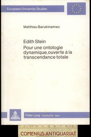 Barukinamwo .:. Edith Stein