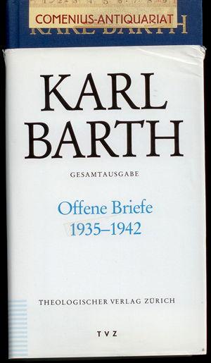 Barth .:. Offene Briefe 1935 - 1942