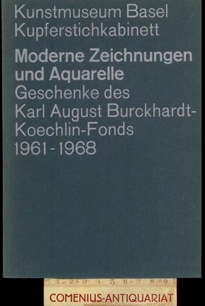 Kupferstichkabinett Basel .:. Moderne Zeichnungen und Aquarelle