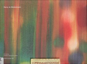Cahiers d'artistes .:. Harry Jo Weilenmann