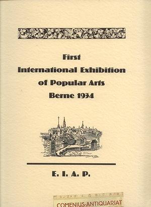 EIAP .:. Bern 1934
