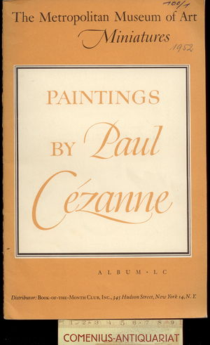 Cezanne .:. Oils and water colors