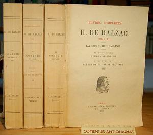 Balzac .:. Scenes de la vie de province