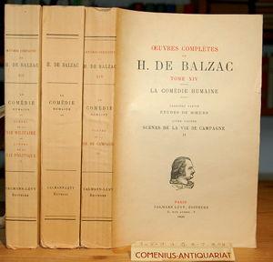 Balzac .:. Etudes de moeurs 4-6.