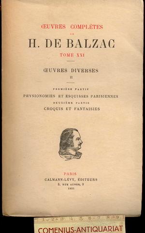 Balzac .:. Oeuvres diverses [2]