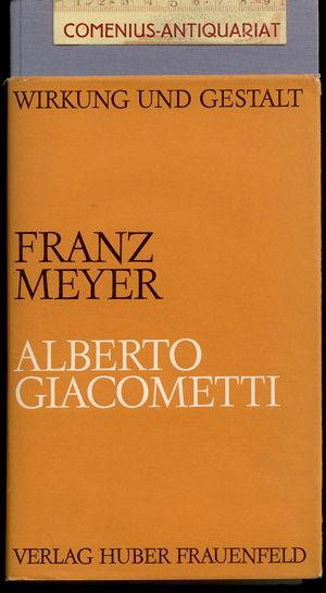 Meyer .:. Alberto Giacometti